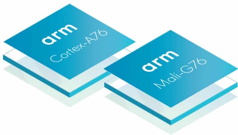 ARM Cortex-A76 and Mali-G76