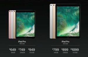 Ipad Pro 2017 price