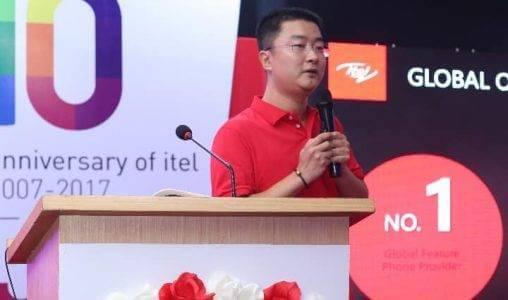 David Lei, President of itel
