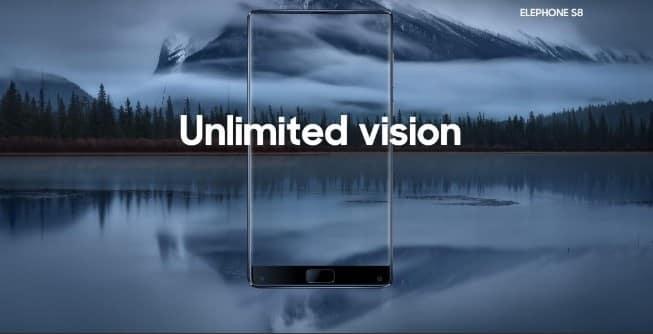 Elephone S8 Screen