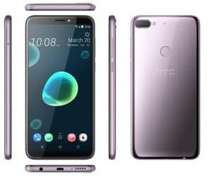 HTC Desire 12 Plus design