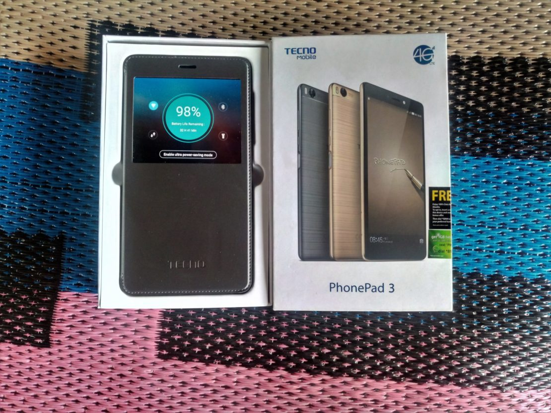 Tecno Phonepad 3 unboxing image