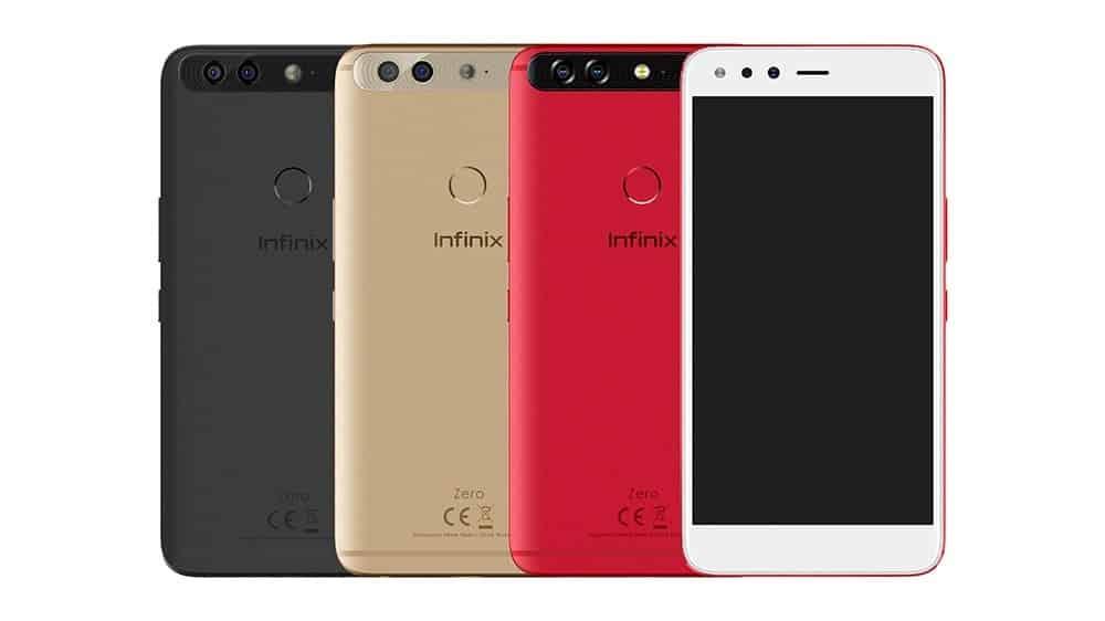 Infinix Zero 5 design