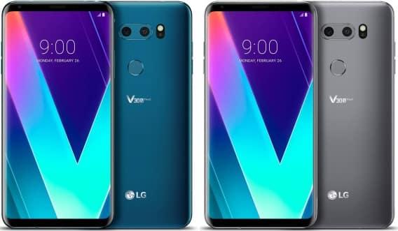 LG V35 ThinQ design