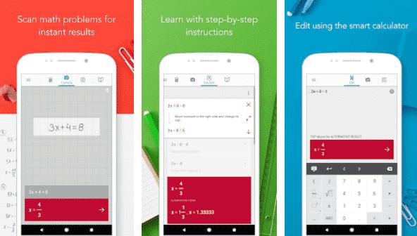 Photo-math-best student study apps