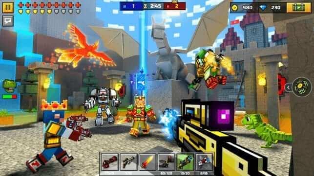 Download Pixel Gun 3D Mod APK Unlimited Coins and Gems