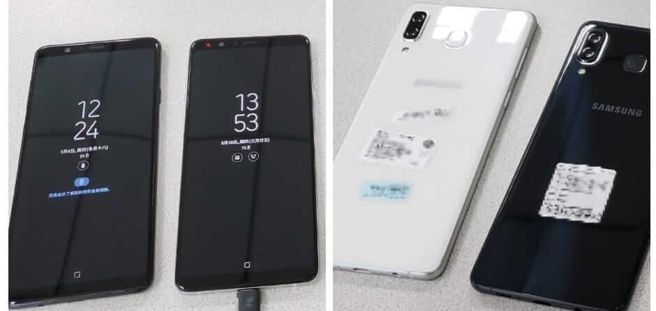 Samsung Galaxy A9 Star and A9 Lite