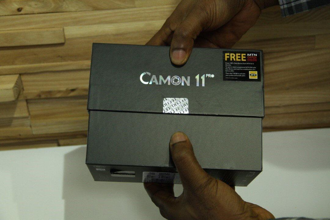 TECNO Camon 11 Pro Unboxing 2