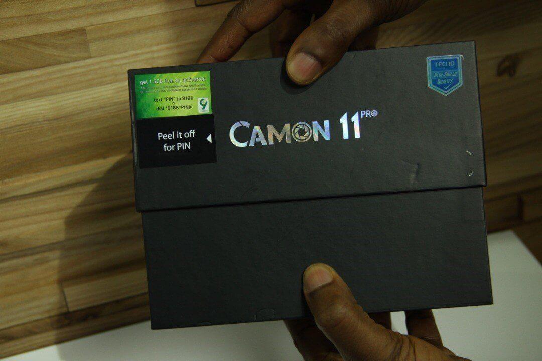 TECNO Camon 11 Pro Unboxing 3