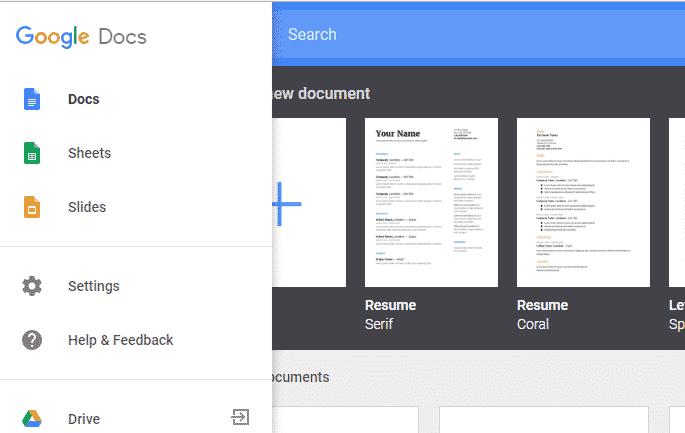use google docs, sheets & slides offline