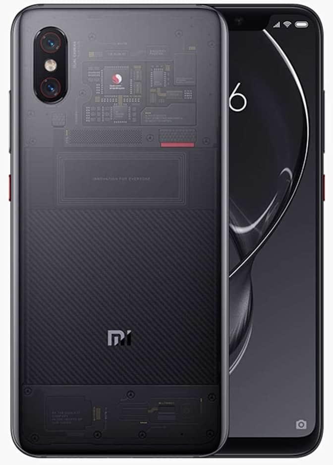 Xiaomi Mi 8 Explorer-Best Xiaomi Phones