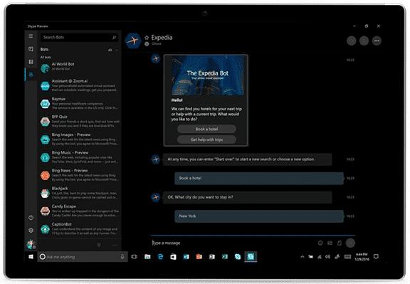 Microsoft Talking bots