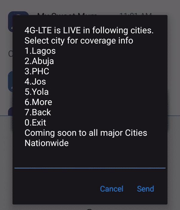 Glo 4G data plan