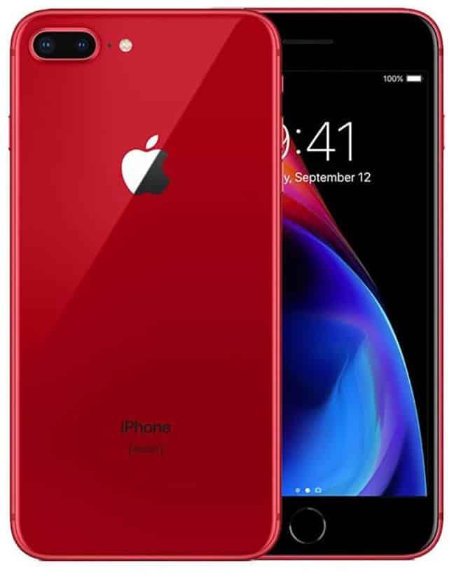 iphone 8 plus red