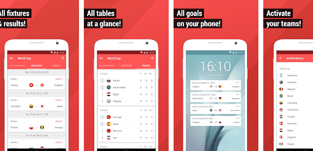 10 Best FIFA World Cup Android Apps