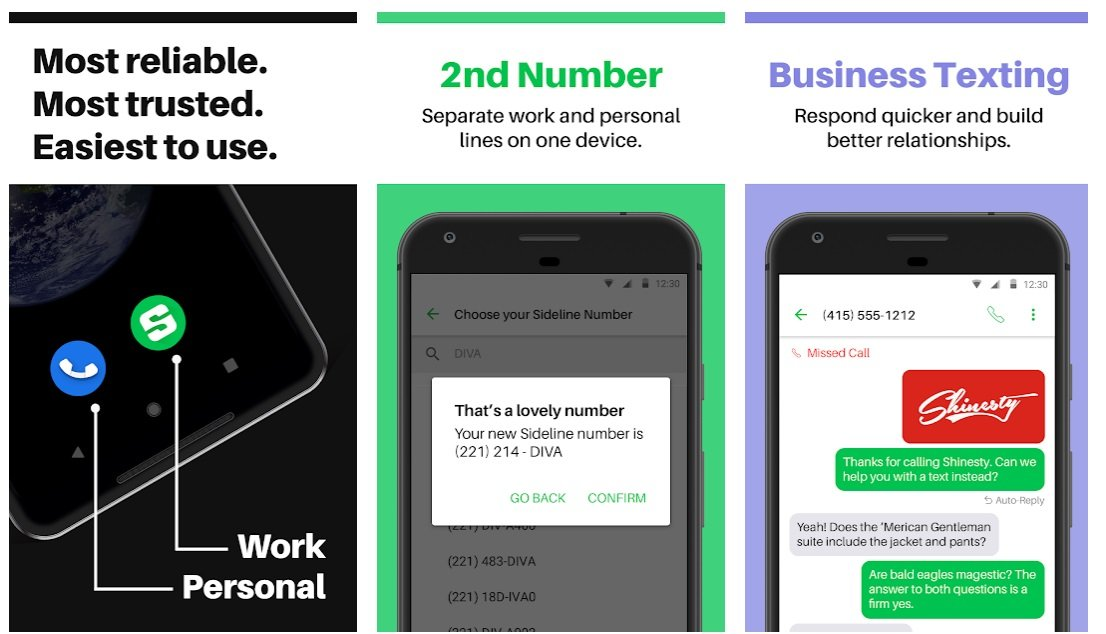 2nd Phone Number apps