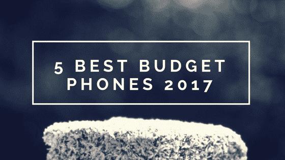 5 Best budget phones