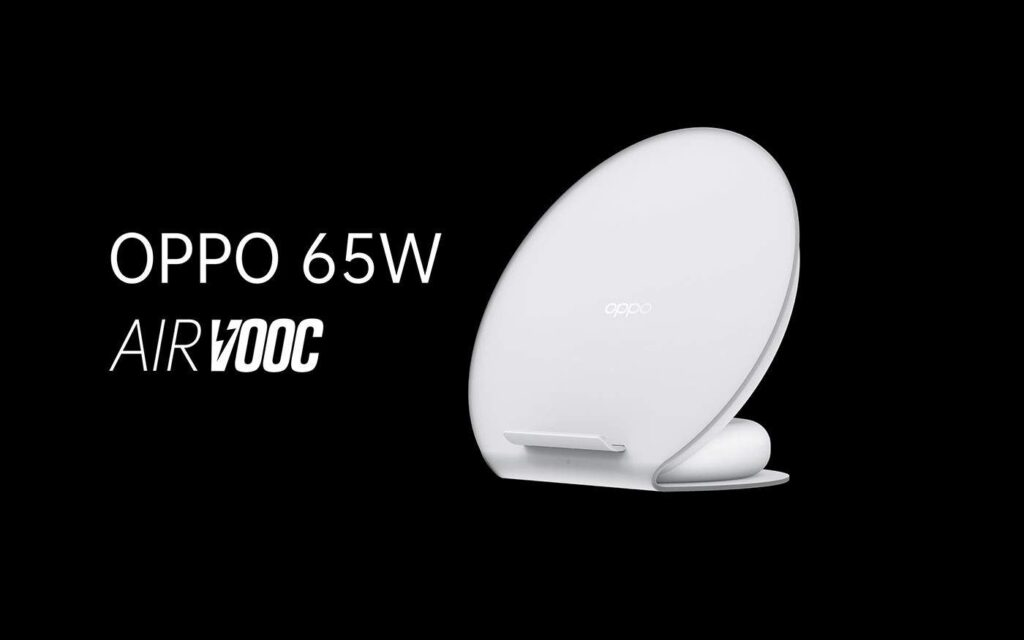 65W AirVOOC wireless flash charge