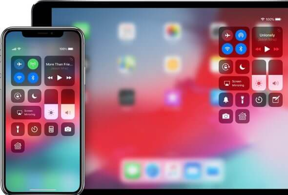 Access Control Center On iPhone X