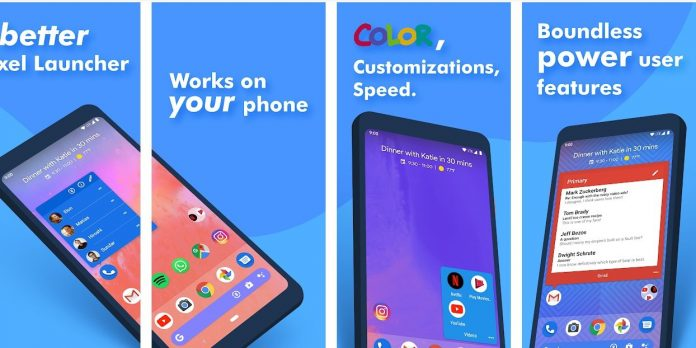 Action Launcher-best Android themes for free download