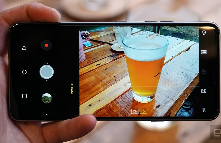 Ai_camera on smartphone
