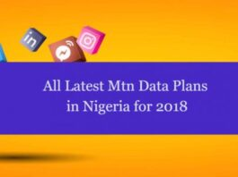 All Mtn Data Plans in Nigeria for 2018