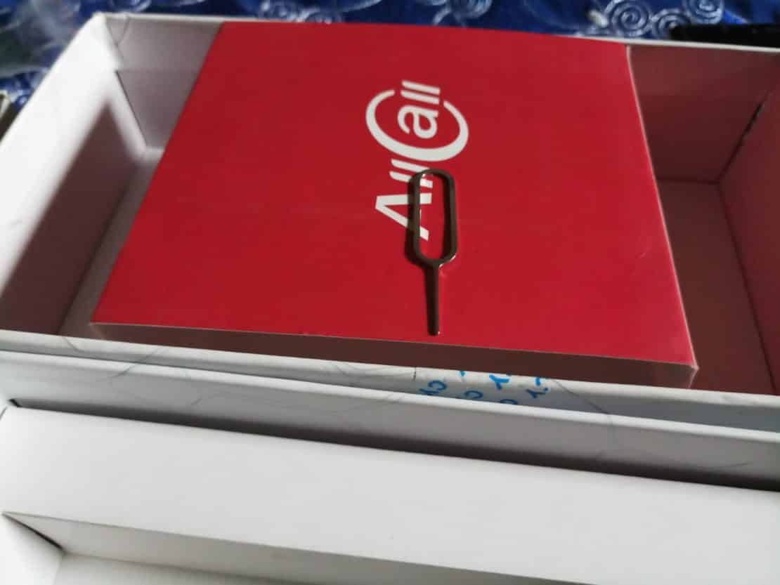 AllCall Rio S 4G Unboxing 4