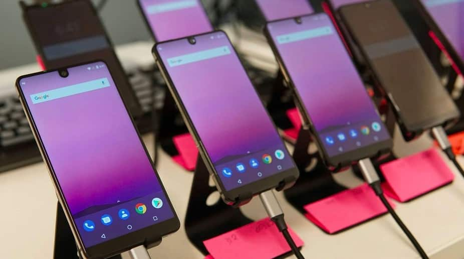 Android phones with notch display