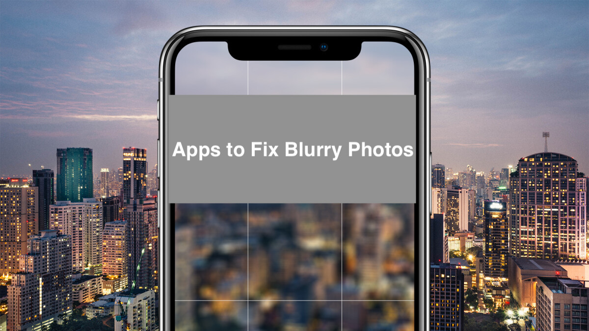 Apps that make pictures clearer