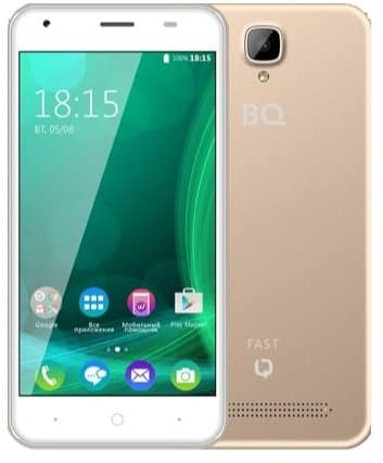 BQ Mobile Fast Gold