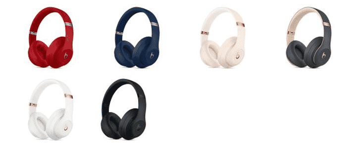 Beats Studio 3 over-ear headphones