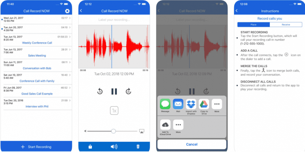 10 Best Call Recorder Apps for Android and iOS