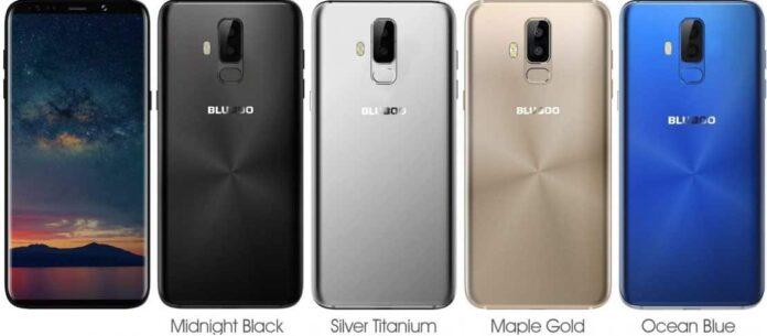 Bluboo S9 design