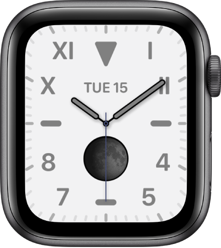 Californnia apple watch face