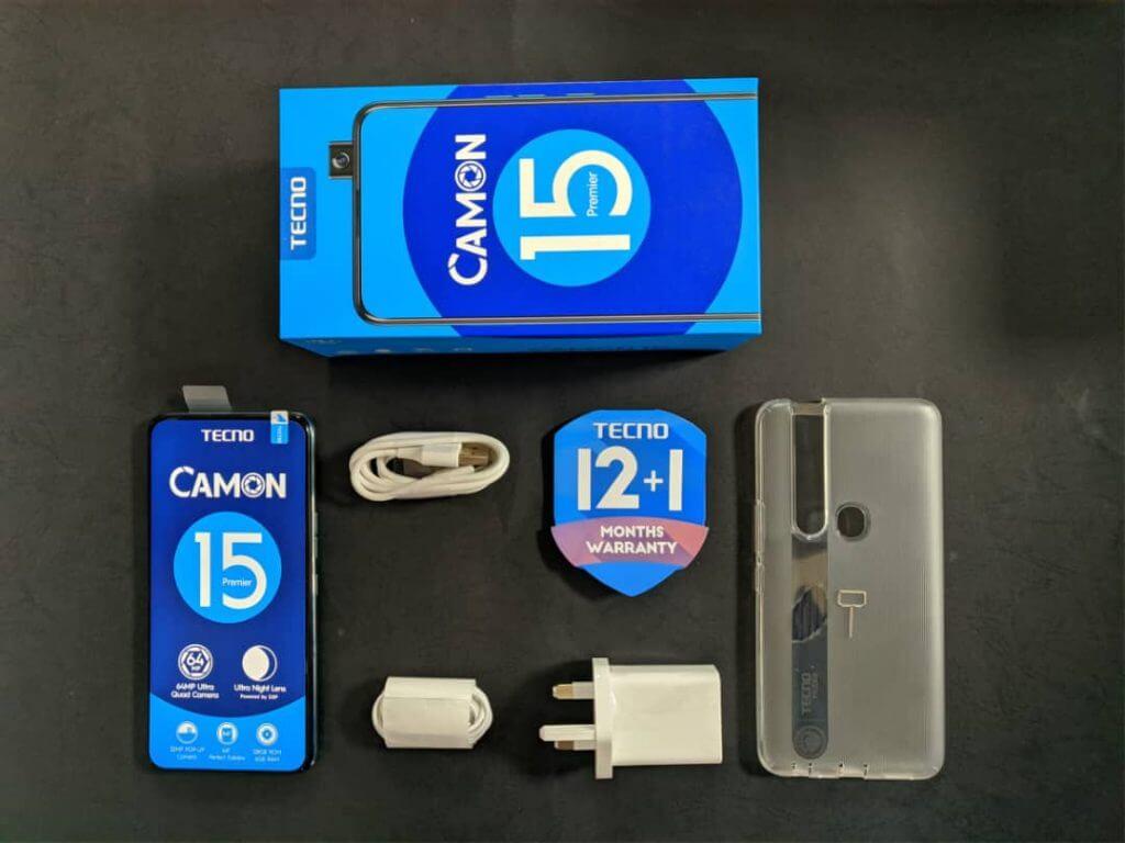 Camon 15 Premier accessories
