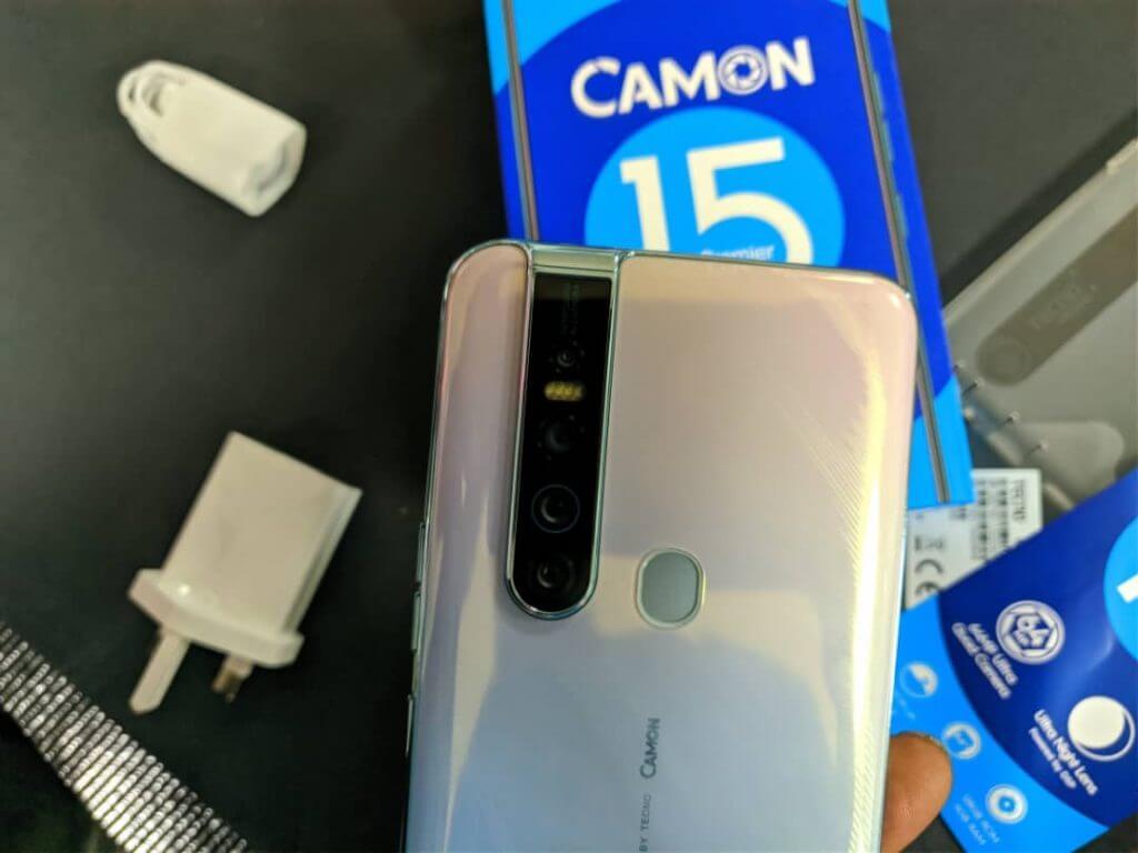 Camon 15 Premier camera