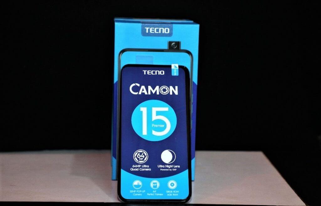 Camon 15 Unboxing