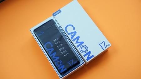 Camon 17 Pro open box