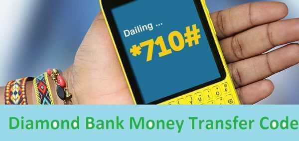 Diamond Bank USSD Money Transfer code