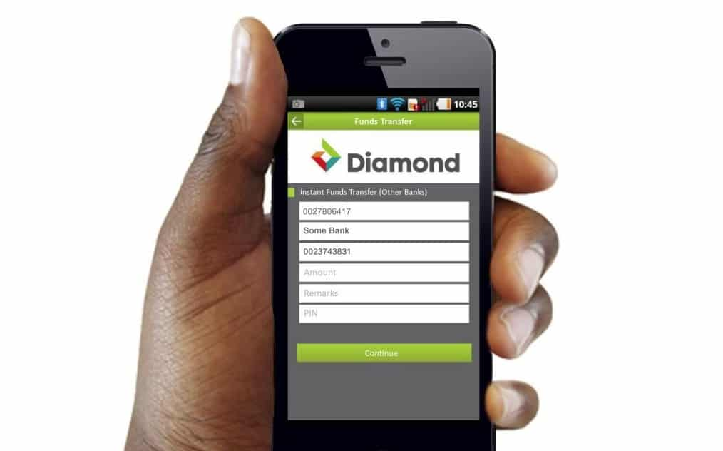 Diamond Bank mobile app and how to use it for Internet mobile Banking
