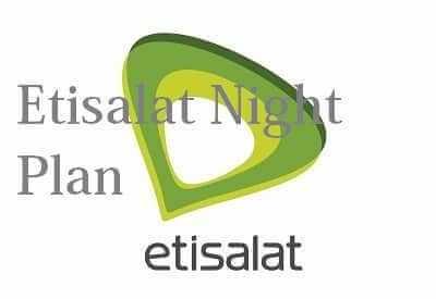 Etisalat Night Data Plan