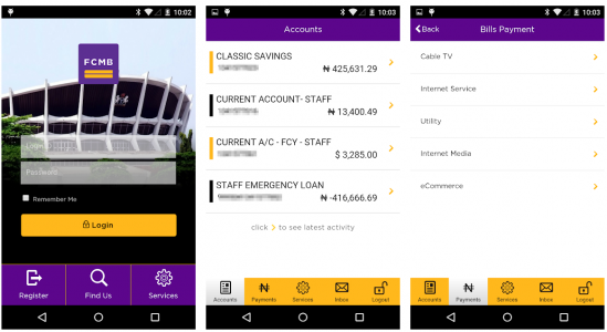 FCMB Mobile Plus App, Uses and How to download