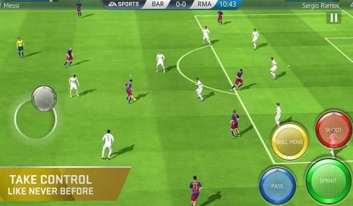 FIFA 19 mod apk game play