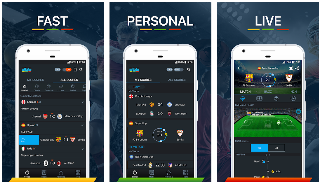 Free Sports Streaming Apps for Android and iPhone