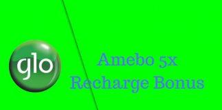 Glo Amebo 5x Recharge Bonus