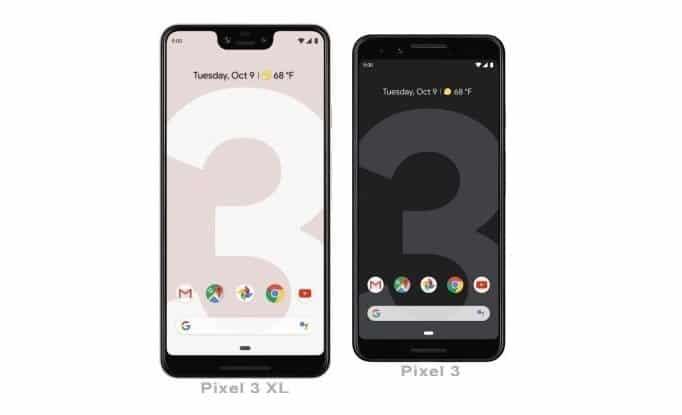 Google Pixel 3andPixel 3 XL