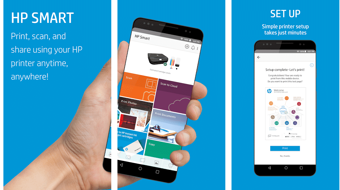 HP Smart (Printer Remote)- Best Printer apps for Android