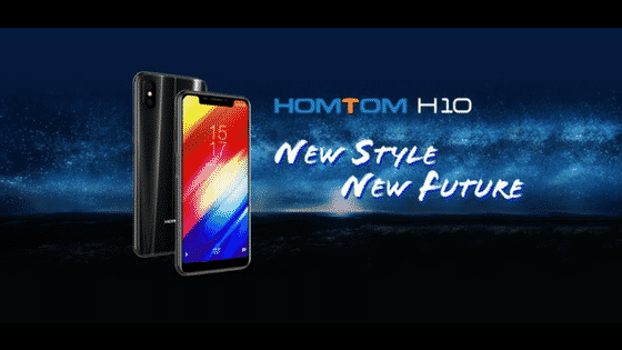 Homtom H10 feature