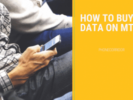 How To Buy Data On MTN Network