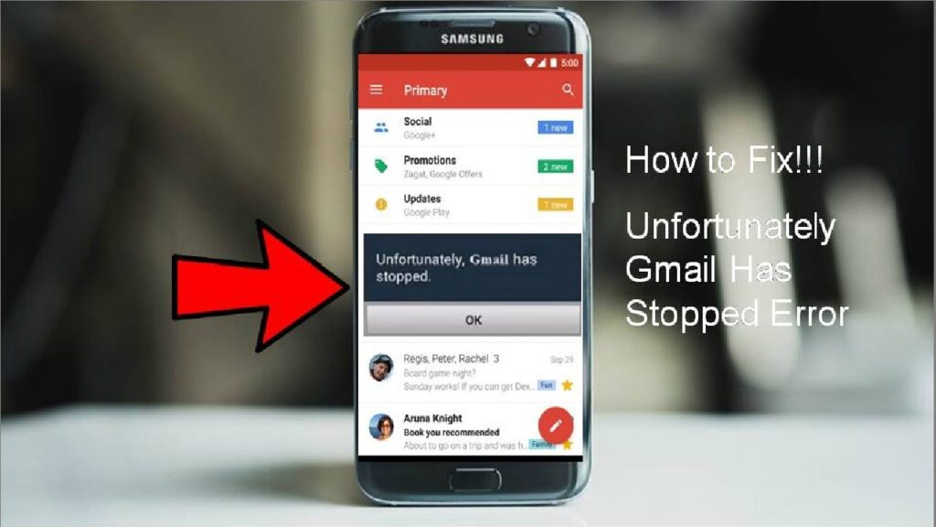 How to Fix Gmail keeps stopping issues on smartphones